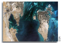 Earth from Space: Colours of the Persian Gulf