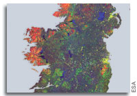 Earth from Space: Ireland