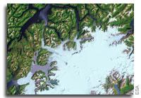 Earth from Space: Pío XI Glacier, Chile