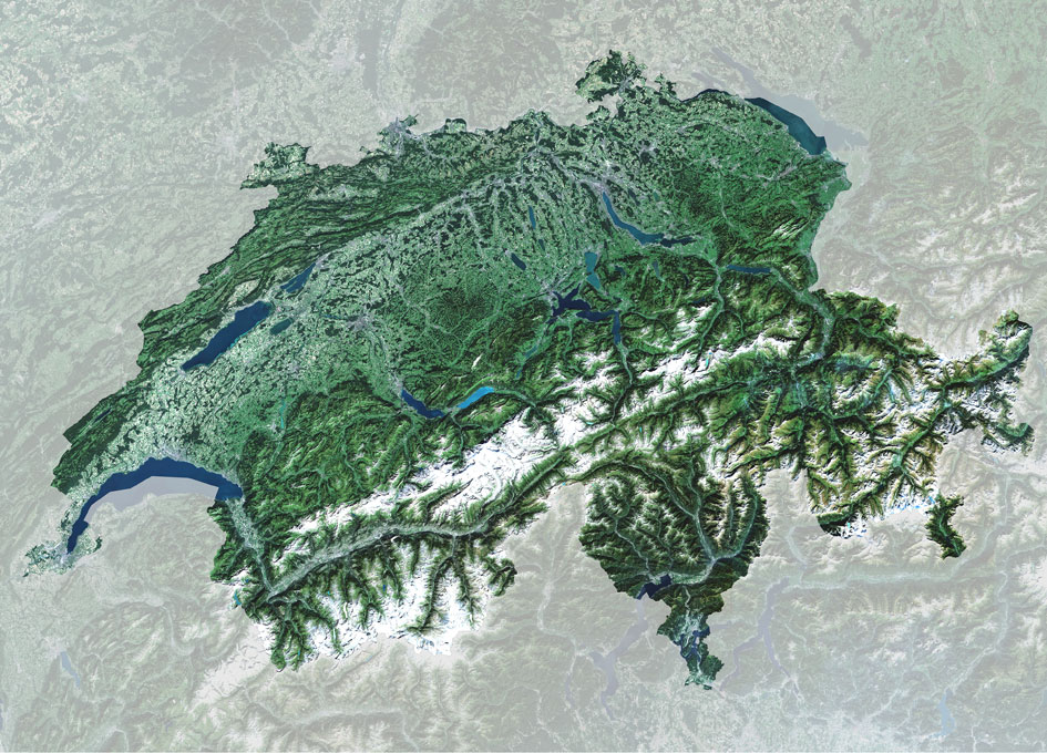 Earth from Space: Switzerland