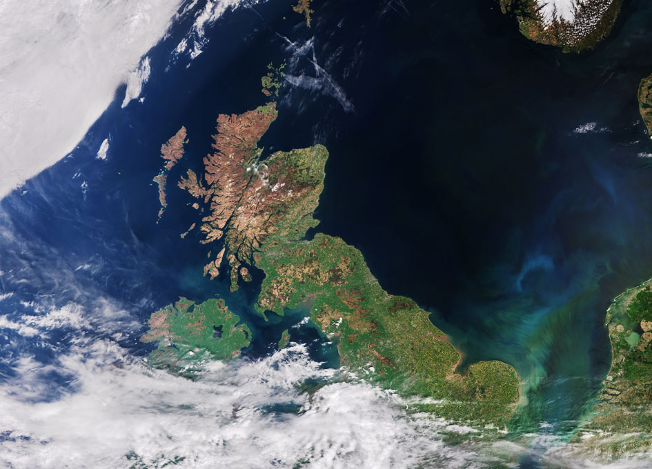 Earth From Space United Kingdom Spaceref