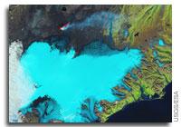 Earth from Space: Vatnajökull, Iceland