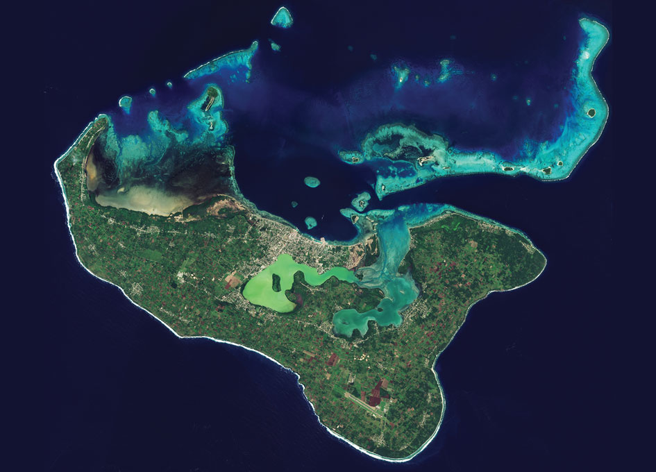 Earth from Space: Tonga