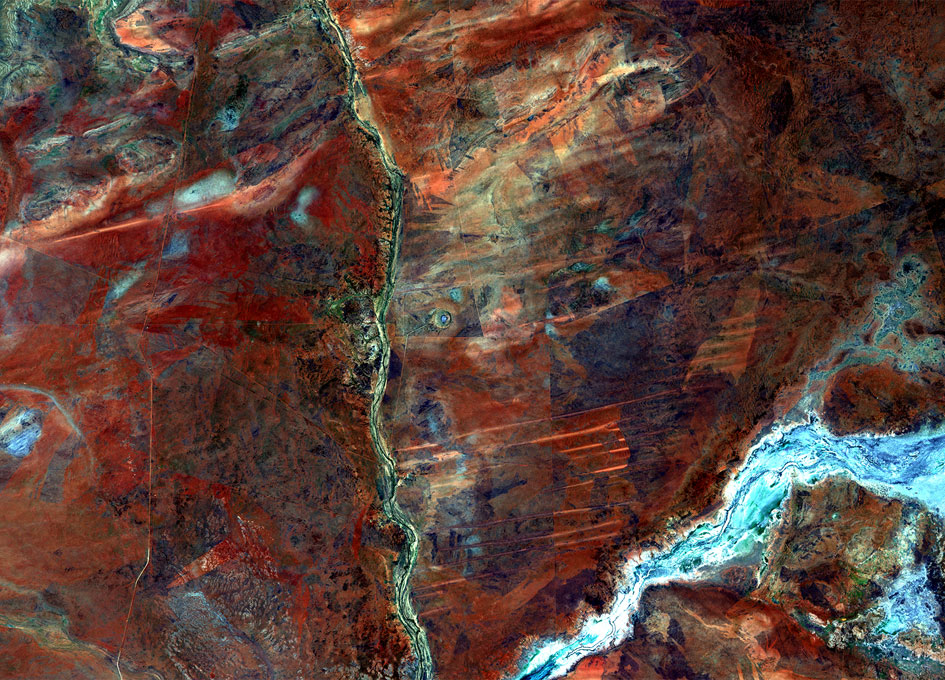 Earth from Space: Wolfe Creek, Australia