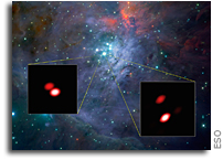 First Light for Future Black Hole Probe