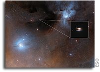 ALMA Finds Unexpectedly Cold Grains in Planet-forming Disc