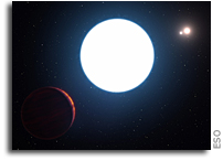 Extrasolar Planet HD 131399Ab Has Three Suns