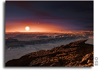Rocky Planet Found in Habitable Zone of Proxima Centauri
