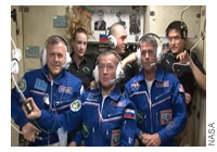 New Expedition 49-50 Crew Arrive at the International Space Station
