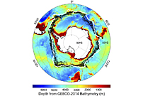 Explaining Sea Ice Differences at Earth's Poles