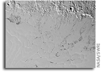 Floating Hills on Pluto's Sputnik Planum