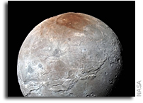 Explaining The Red Color On Charon