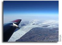 NASA Science Flights Study Effect of Summer Melt on Greenland Ice Sheet