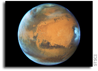 New View Of Mars From Hubble