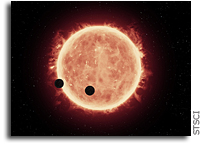 Hubble Studies The Atmospheres of Earth-Sized Exoplanets