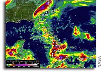 Calculating Hurricane Matthew's Total Rainfall