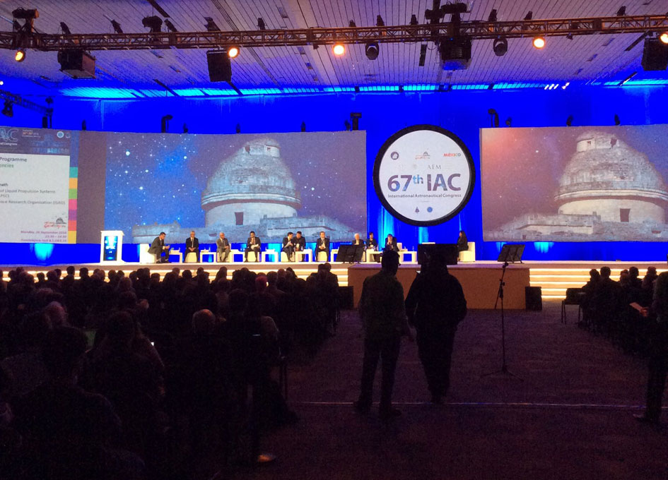 67th International Astronautical Congress Head os Agencies plenary.