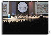 Video: Space and Climate Plenary at the 67th International Astronautical Congress