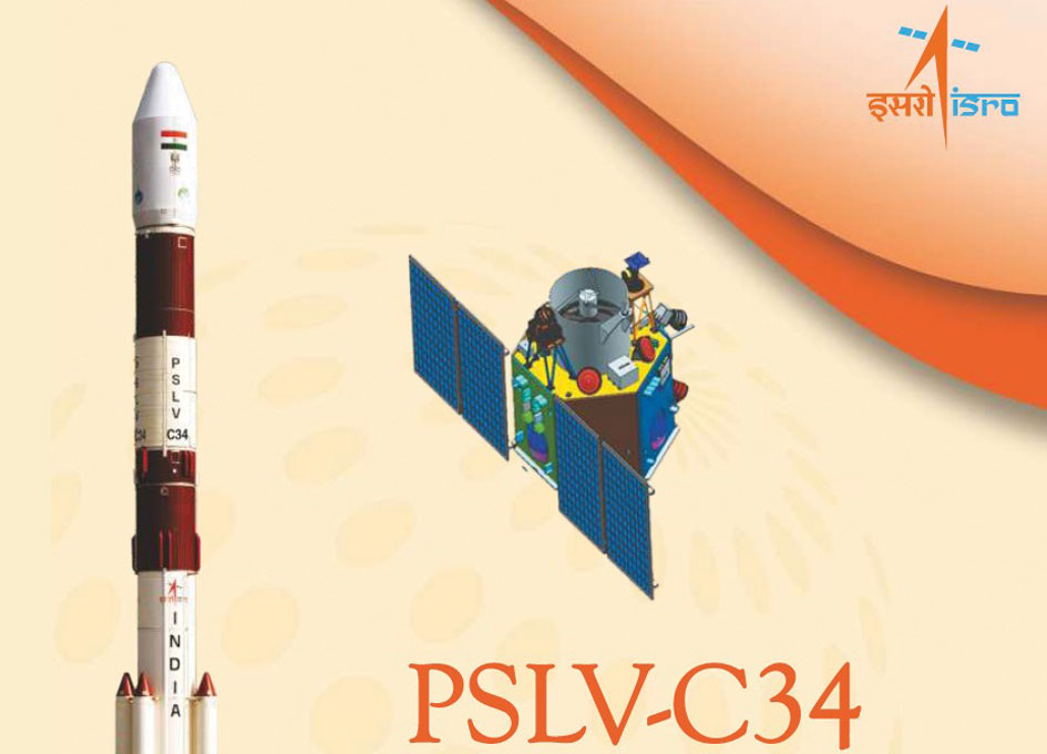 SpaceRef to Broadcast Live ISRO Launch of M3MSat and CLAIRE Satellites