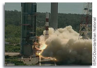 Indian Rocket Successfully Launches 20 Satellites
