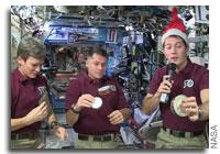 International Space Station Crew Celebrates the Holidays Aboard the Orbital Lab
