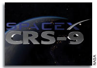 NASA Briefing for the SpaceX CRS-9 Resupply Mission to the International Space Station