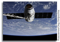 SpaceX Dragon Docked with the International Space Station