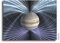 Juno Will Examine Jupiter's Magnetosphere