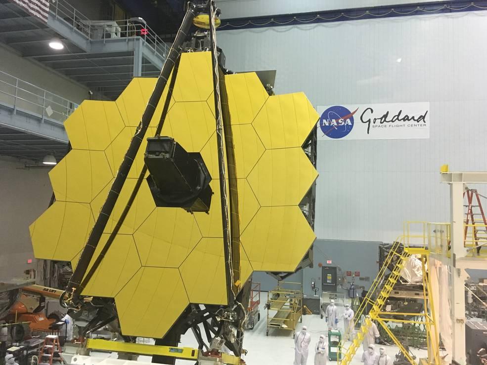 NASA Invites Artists to Visit James Webb Space Telescope