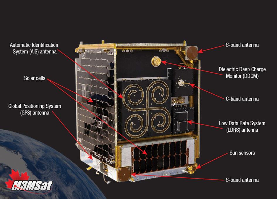 Canada's Maritime Monitoring and Messaging Microsatellite (M3MSat)