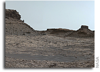 Full-Circle Vista from NASA Mars Rover Curiosity Shows Murray Buttes