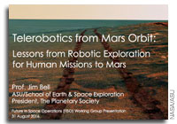 NASA FISO Presentation: Telerobotics from Mars Orbit - Lessons from Robotic Exploration for Human Missions to Mars