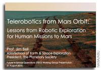 NASA FISO Presentation: Telerobotics from Mars Orbit - Lessons from Robotic Exploration for Human Missions to Mars