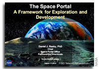 NASA FISO Presentation: NASA Space Portal - A Framework for Space Exploration and Development in the 21st Century?