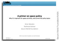 NASA Future In-Space Operations: A Primer on Public Policy, Why it's Important for Space Activities, and Current Hot Policy Topics