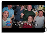Happy Thanksgiving from NASA and What Astronauts Will Eat and Do on Thanksgiving