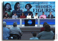 Video: NASA Holds Media Event with the Cast of the Movie Hidden Figures