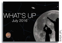 NASA JPL: What's up in the sky for July 2016