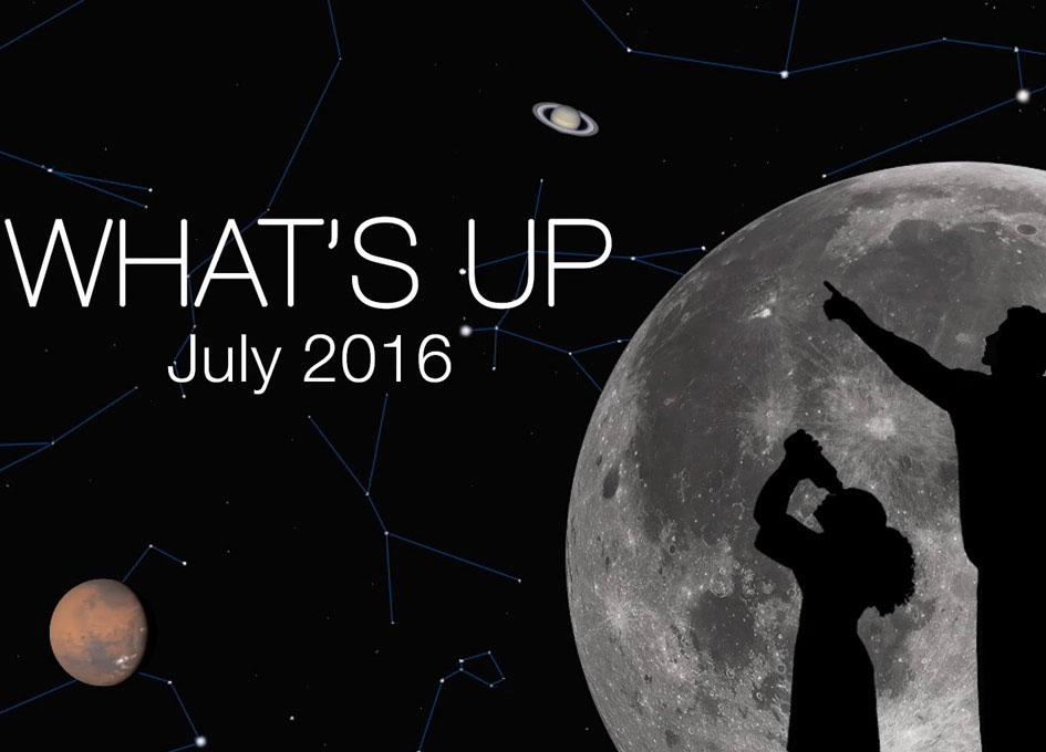 NASA JPL: What's up in the sky for July 2016 - SpaceRef