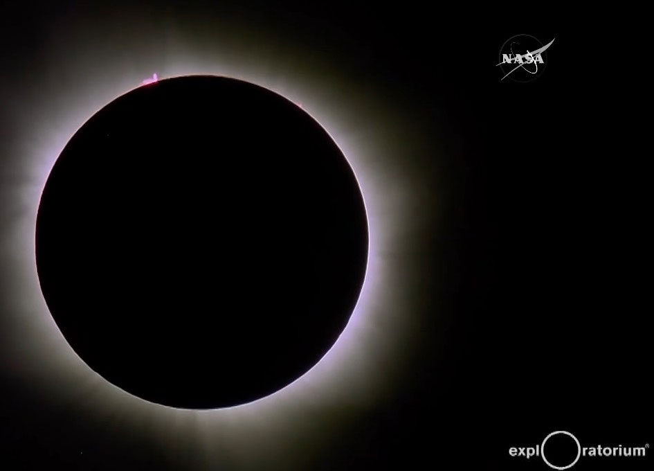 Video: March 8 Solar Eclipse Totality - SpaceRef