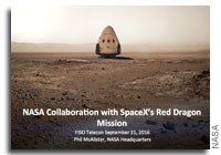 NASA FISO Presentation: NASA Collaboration with SpaceX's Red Dragon Mission