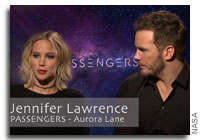NASA Scientist Quizzes the Stars of Passengers