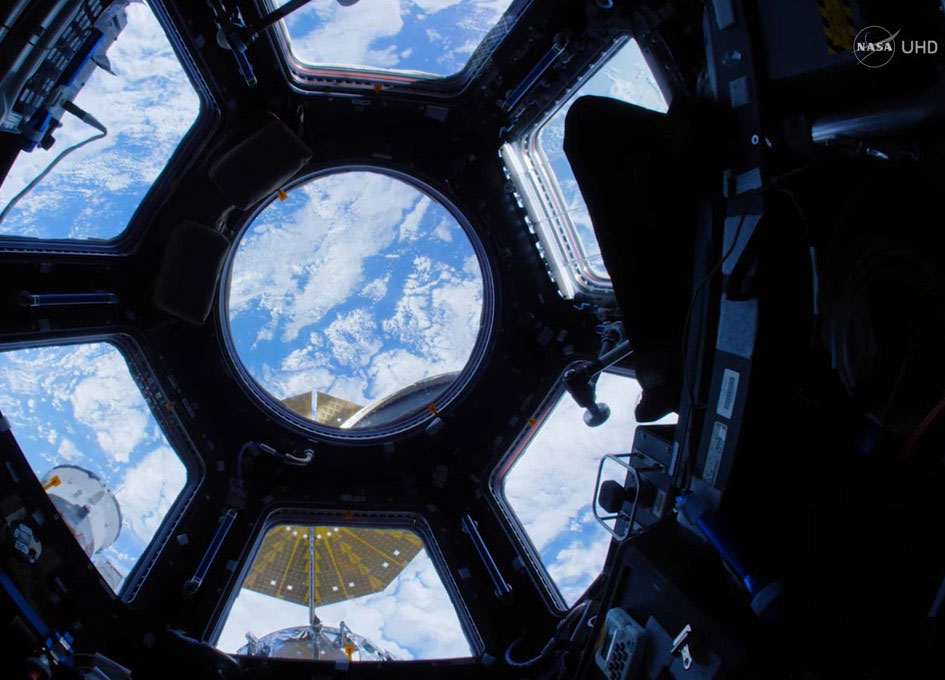 NASA Releases Ultra HD (4K) Space Station Fisheye Fly-Through
