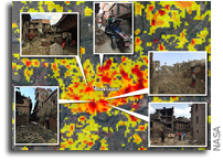 NASA Damage Maps in Nepal May Help in Future Quakes