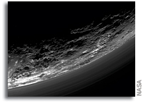 Haze Layers Above Pluto
