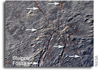 Icy 'Spider' on Pluto