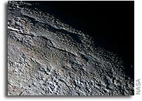 Pluto's Snakeskin Terrain