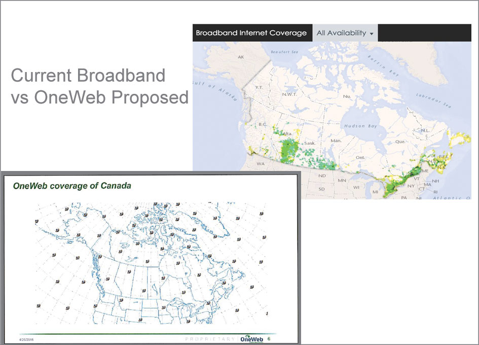 OneWeb Could Make 100% Broadband Coverage to Remote Canadian Communities Available and Affordable