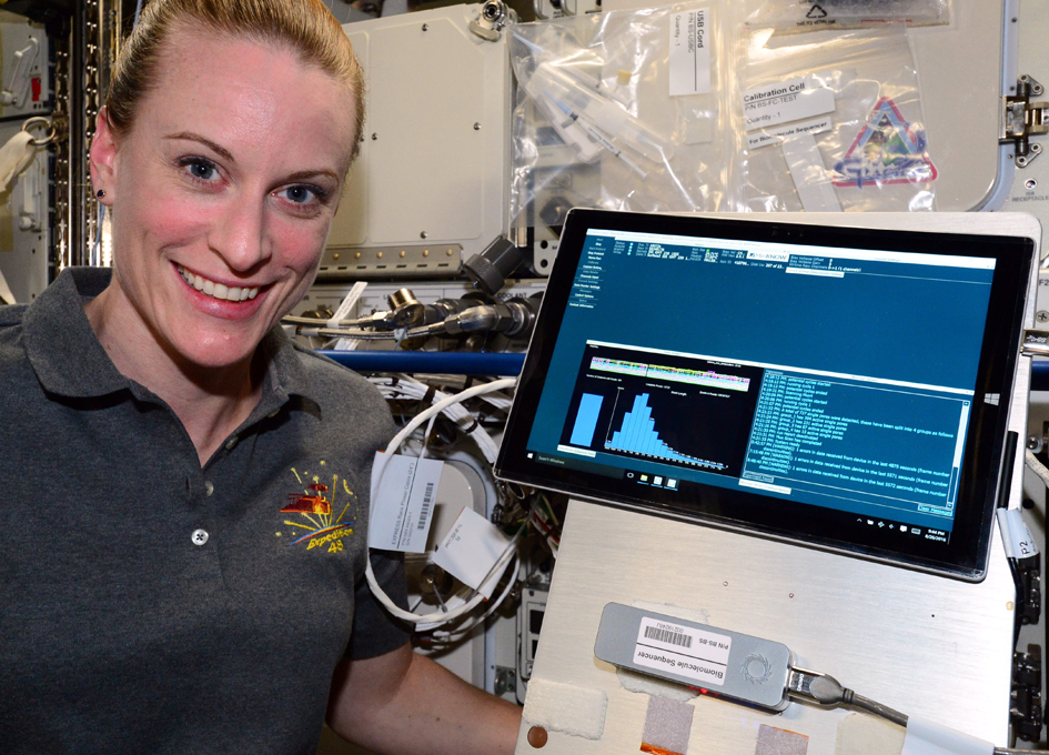First DNA Sequencing Conducted in Space