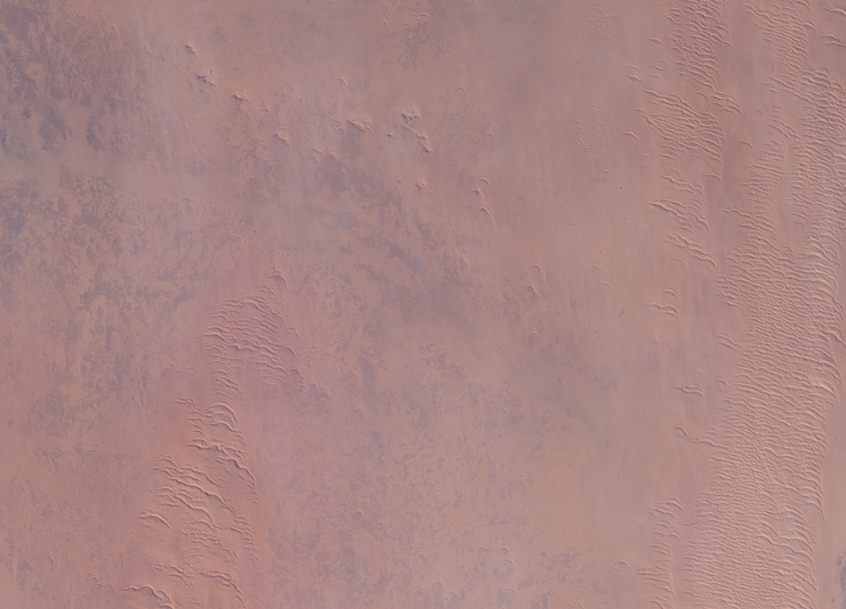 An African Desert Viewed From Space